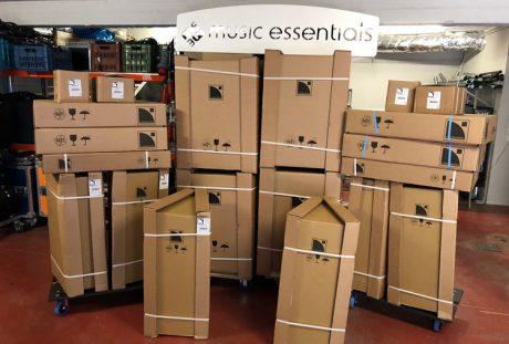Ένα L-Acoustics σύστημα για τη Music Essentials