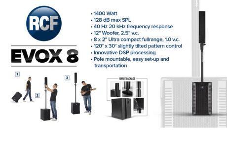RCF EVOX 8: Το 'μεγάλο' μικρό…