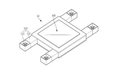 Ιπτάμενο 'display device' από τη Samsung