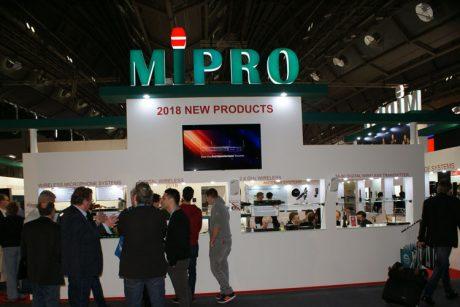 Nέα προϊόντα MiPRO στην PL+S 2018