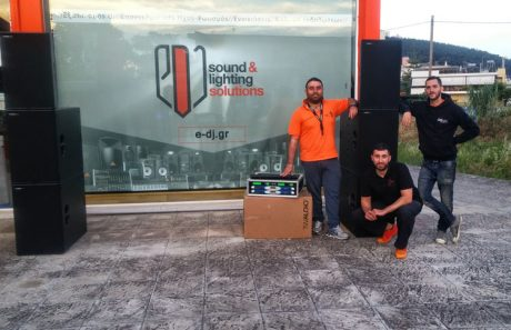 Ακόμα ένα TW-Audio PA-SYS-ONE στην Ελληνική αγορά