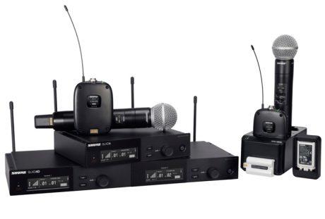 Η νέα ψηφιακή οικογένεια SLX-D της Shure