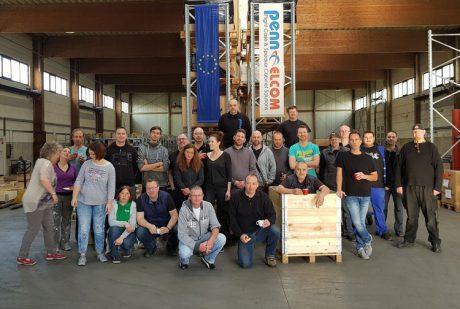 Η Penn Elcom GmbH σε νέες εγκαταστάσεις