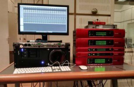 40 κανάλια Focusrite RedNET στα Μουσικά Σύνολα της ΕΡΤ...