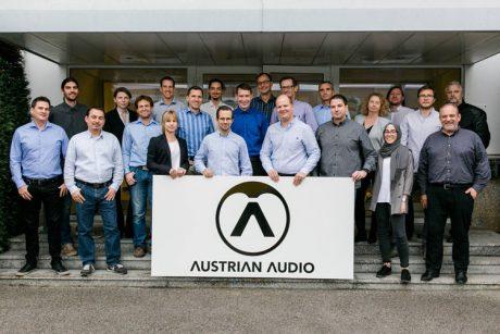 Επίσημο λανσάρισμα της Austrian Audio