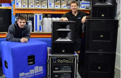 H Spotlight Sound επενδύει σε KV2