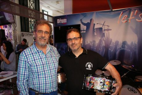 To DRUMstore στη Music World Expo 2016