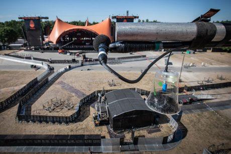 'Εργαστήριο καιρού' το Roskilde για τη Meyer Sound'