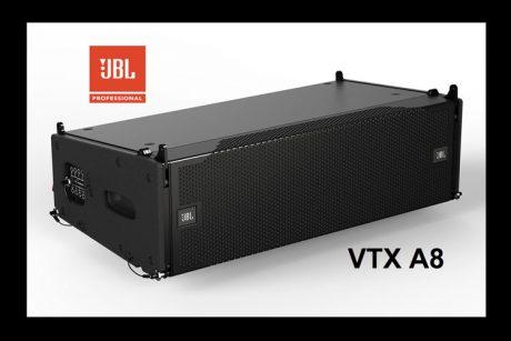 Ετοιμο το νέο JBL VTX A8