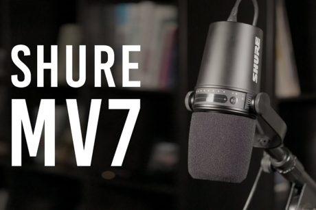 Ντεμπούτο για το Shure MV7