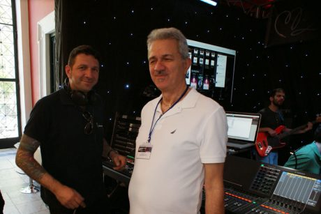Manos Backline Services στη Music World Expo 2016
