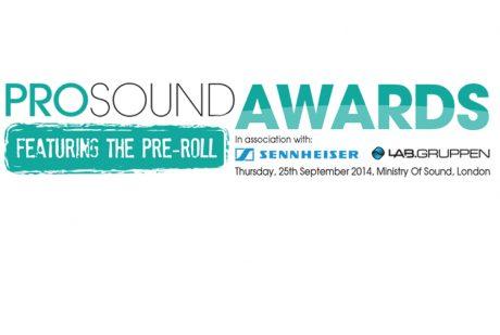 Pro Sound Awards 2014: Οι νικητές