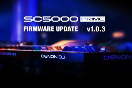 Νέο Firmware για το Denon SC5000