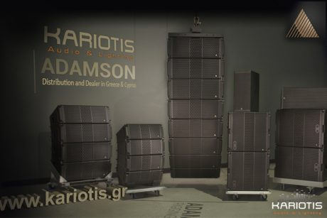 Η Adamson στην Kariotis Audio & Lighting