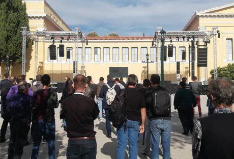 Υψηλή συμμετοχή στα outdoor demos της iNTERLiNKED, με υποδειγματικό session ακροάσεων και με τη συμμετοχή 7 συστημάτων...