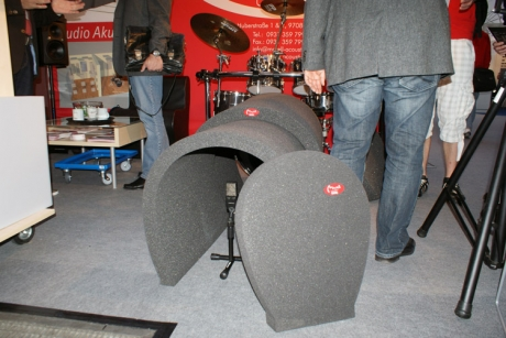 Bass drum Tunnel