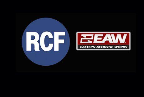 Η RCF εξαγόρασε την Eastern Acoustics Works (EAW)!