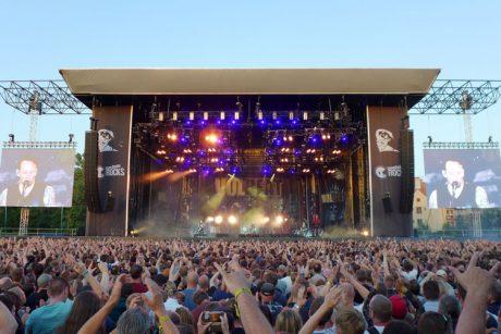 Η Alcons Audio στο νεοσύστατο hard rock φεστιβάλ Trondheim Rocks, όπου εμφανίστηκαν ως headliners οι Iron Maiden και οι Volbeat…
