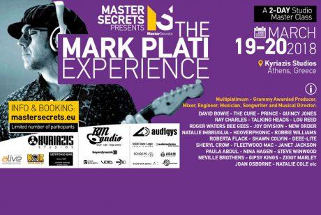 """Γιατί θα πάμε στο """"The Mark Plati Experience"""""""