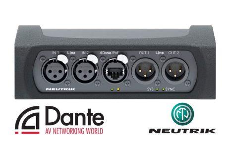 Πρωτοποριακό DANTEL Interface από τη Neutrik