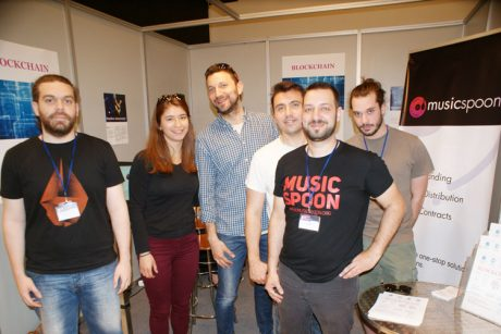 Η ομάδα Musicspoon στη MWE 2017