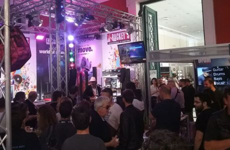 H Rackeys στη Μusic World Expo