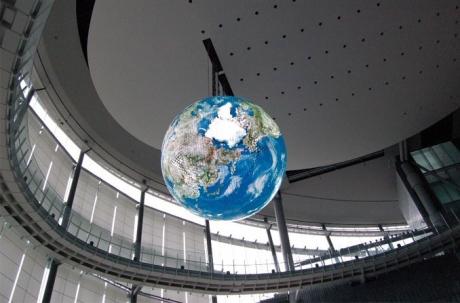 Η μεγαλύτερη σφαιρική OLED οθόνη στον κόσμο