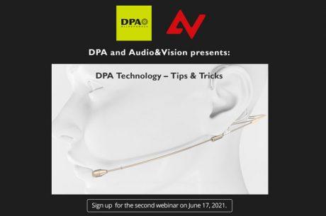 Δεύτερο webinar από DPA και Audio & Vision