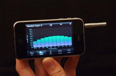 Μετρητικό μικρόφωνο για ipad & iphone