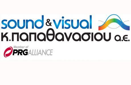 Η Sound & Visual - Κ. Παπαθανασίου ΑΕ στη MWE 2016