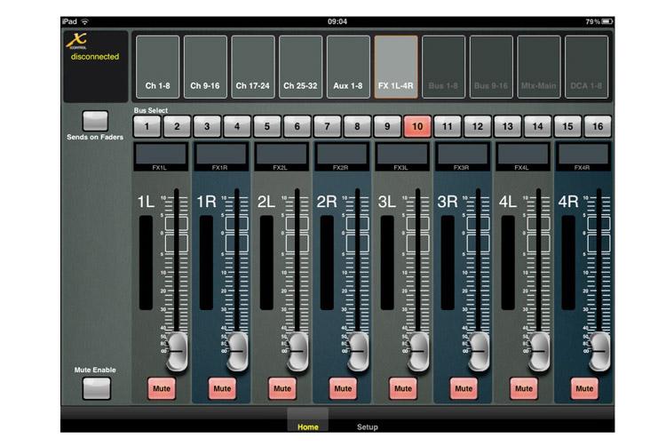 Νέα iPad εφαρμογή για την X32