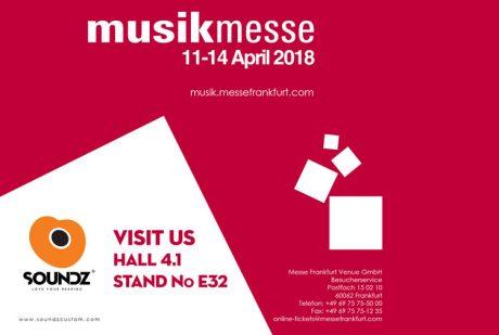 Η Soundz στη Musikmesse 2018
