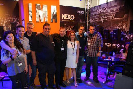 Η IMA Audio Lighting στη Music World Expo