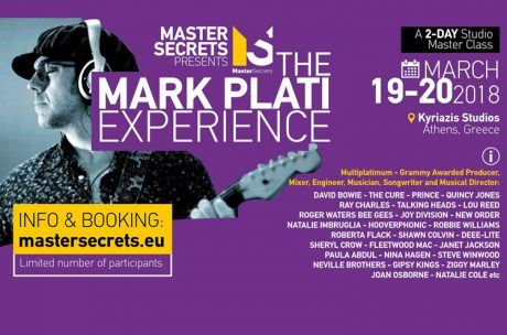 """The Mark Plati Experience"" – Studio Master Class"