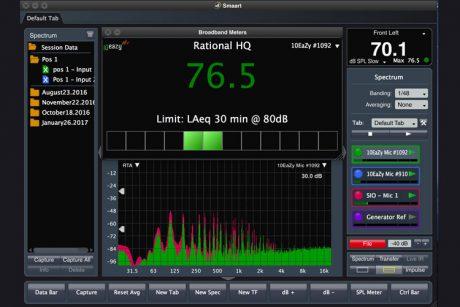 Η Rational Acoustics έχει ήδη διαθέσιμη για δωρεάν download τη δεύτερη αναβάθμιση για το Smaart v8. Δείτε εδώ τα βασικά updates…