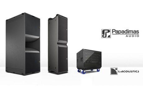 H Papadimas Audio επενδύει σε σύστημα Κ2 της L-Acoustics...