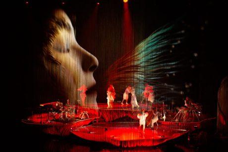 Bjork 360 μοιρών με d&b Soundscape