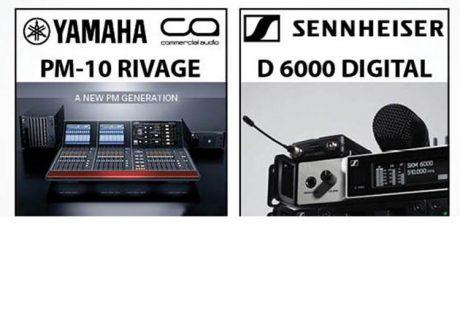 Παρουσίαση Yamaha PM-10 & Sennheiser D 6000