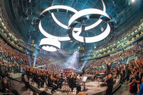 250 καμπίνες Meyer Sound για τους Metallica στις 2  επετειακές συναυλίες μαζί με συμφωνική ορχήστρα, στο νέο στάδιο των Golden State Warriors...