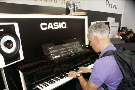 Η Casio με τα Hybrid Pianos της στη MWE 2017