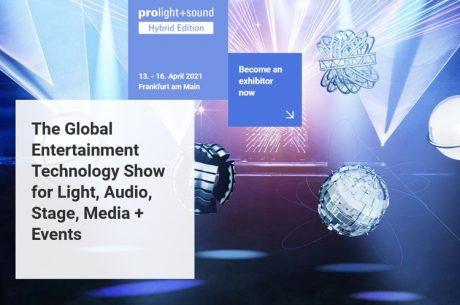 Υβριδική πλατφόρμα για την Prolight + Sound 2021