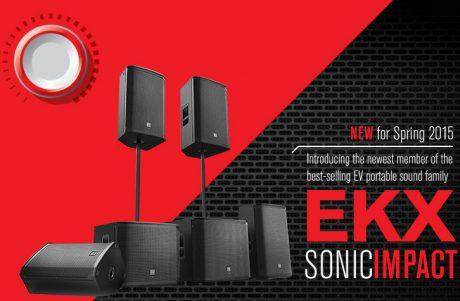 Ντεμπούτο για τα Electro-Voice EKX