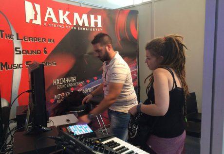 Το ΙΕΚ ΑΚΜΗ στη Music World Expo