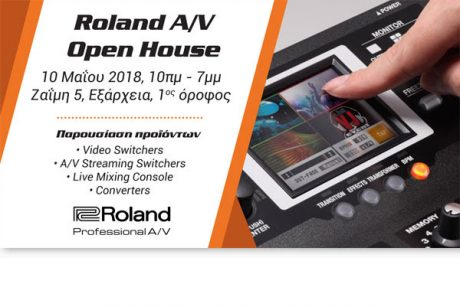 Roland A/V Open House