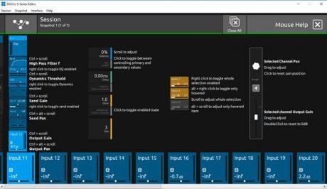 DiGiCo: Νέος Offline Editor για τη σειρά S