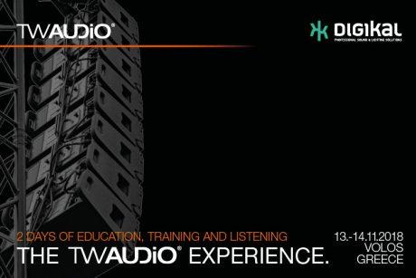 Εκπαιδευτικό σεμινάριο TW AUDiO Experience