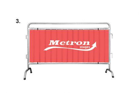 Η Metron Stages παρουσιάζει ένα νέο κάγκελο εκδηλώσεων-διαχωρισμού (MNRAIL200x120) που πληροί τα ευρωπαϊκά πρότυπα ασφαλείας…