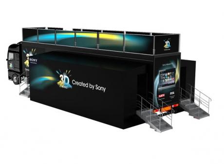 Στην Ελλάδα το Sony 3D Truck Roadshow