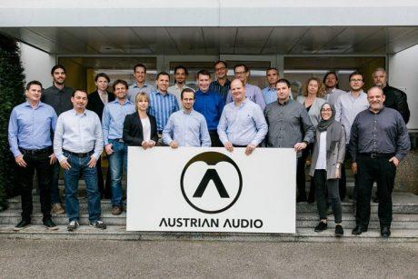 H Austrian Audio στο Bon Studio