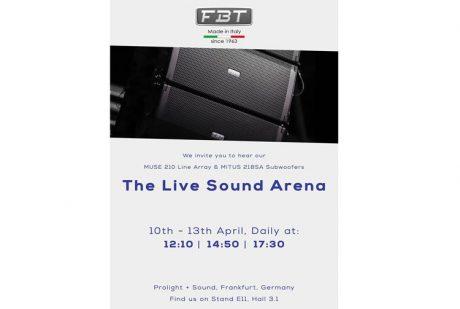 Ακούστε τα Muse & Mitus της FBT στη Φρανκφούρτη